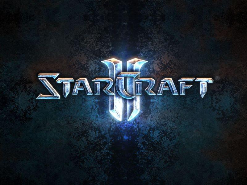 StarCraft II Logo.